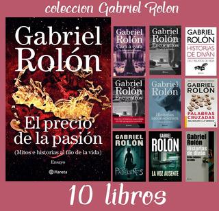 El Precio De La Pasión + 9 Libros !! Gabriel Rolón