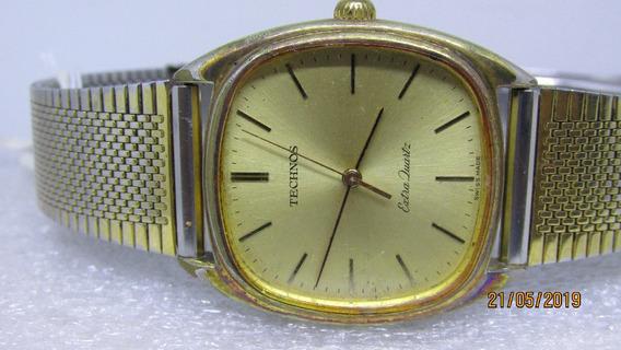 Relógio Technos Extra Quartz. 7 Rubis . Suiço...ref 524