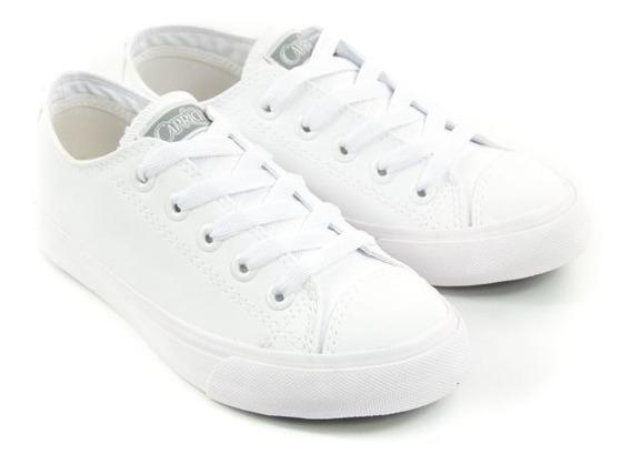 E Tenis Fem Cp0570 Like Class Branco Capricho 20967