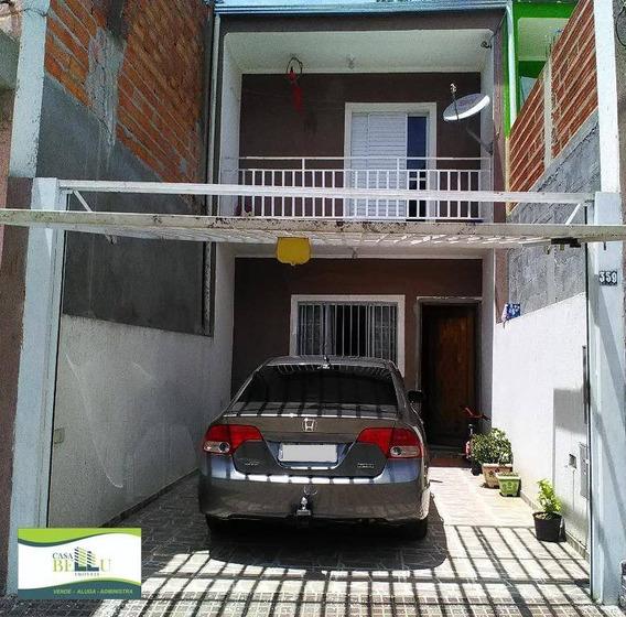 Casa Residencial À Venda, Vila Dos Comerciários, Franco Da Rocha. - Ca0106