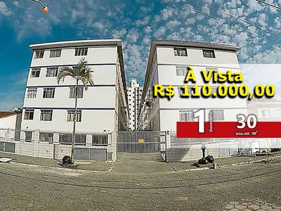 Kitnet 1 Dormitório À Venda, 30 M² Por R$ 110.000 - Kn0053