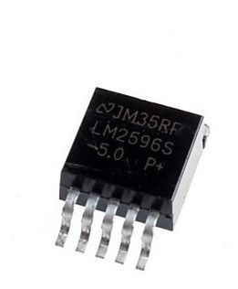 Ci Lm2596s 5.0 Regulador De Tensao 5v Step Down 3a