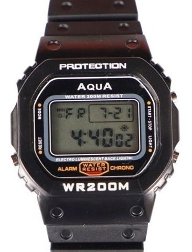 10 Relógios Aqua Militar Bolsonaro