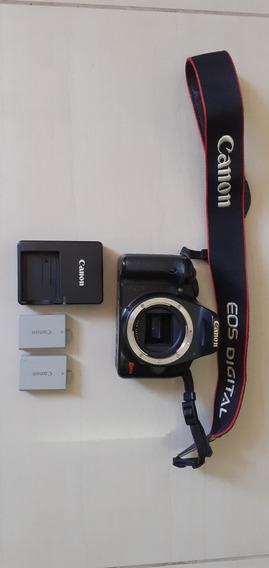 Câmera Canon Rebel Xsi 450d 12,2 Megapixels Corpo