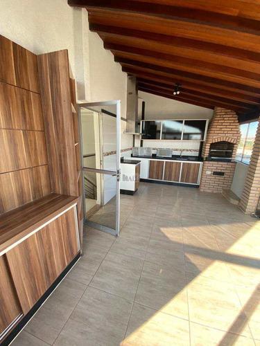 Imagem 1 de 10 de Apartamento À Venda Jardim Bela Vista Com 3 Quartos E 2 Vagas - V1299