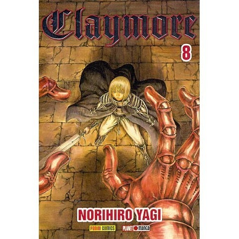 Mangá Claymore Nº 08 - Panini