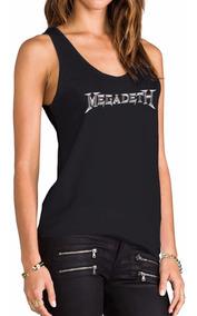 Musculosa Estampada Megadeth Inkpronta