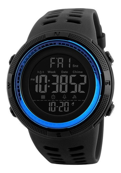 Relógio Mecânico Oceano Azul Original Modelo Novo