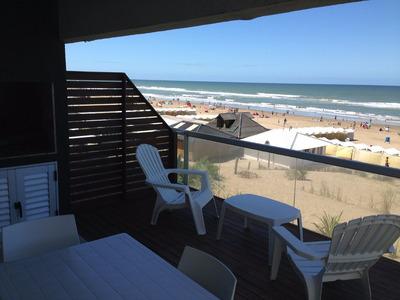 Alquilo Departamento Frente Al Mar Sobre La Playa Pinamar