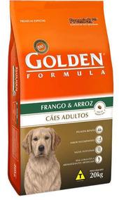 Ração Golden Fórmula 20 Kg Adulto