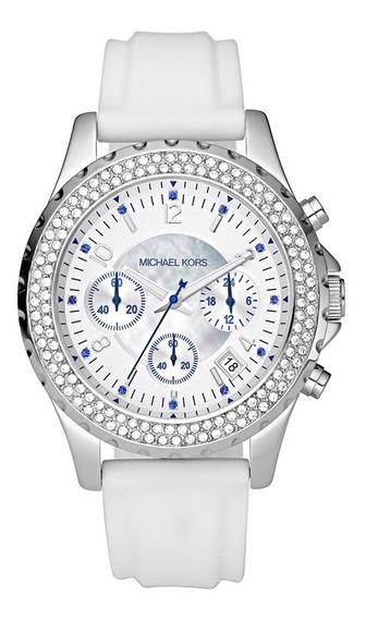 Relógio Luxo Mk5389 Orig Chronograph Anal & Swarovski!!!