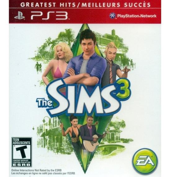 The Sims 3 Ps3 Semi-novo