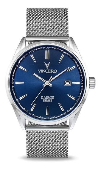 Reloj Vincero Luxury Kairos Hombre Bla-silm-k12
