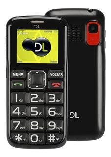 Celular Idoso Dl Yc110 Botão Sos Bateria Longa Duração Nf