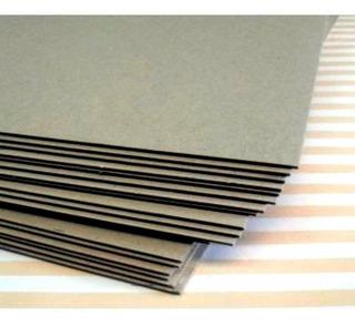 Plancha De Carton Gris 70x100cm 1.5mm