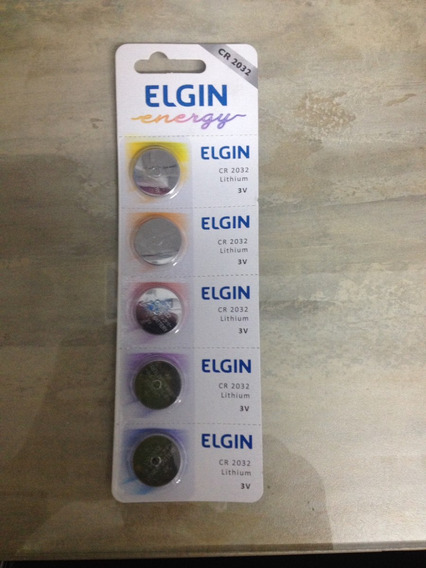 Baterias Cr2032 Pacote Com 10 Baterias - Elgin -