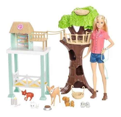 Barbie De Rescate Animalitos Original Y Nueva De Mattel