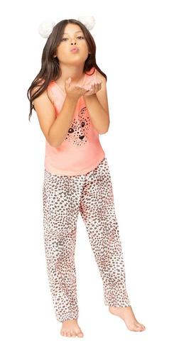 Pijama Blusa Sisa Y Pantalón Largo De Niña Niñas