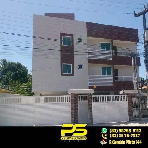 ( O F E R T A ) Ótimo Apt C/ 2 Qts Sendo 1 St Com 60 M², Por R$ 140.000 - Rangel - João Pessoa/pb - Ap1874