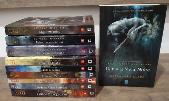 Livros Instrumentos Mortais + As Peças Infernais + Dama Da M
