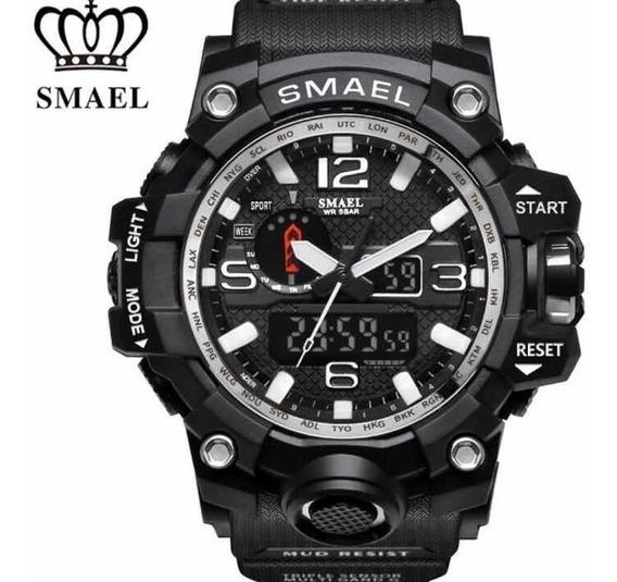 Relógio Militar Exército Smael Esportivo Prova D