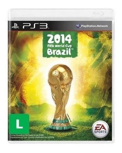 Jogo Copa Do Mundo Fifa 2014 Ps3 Mídia Física Frete Grátis