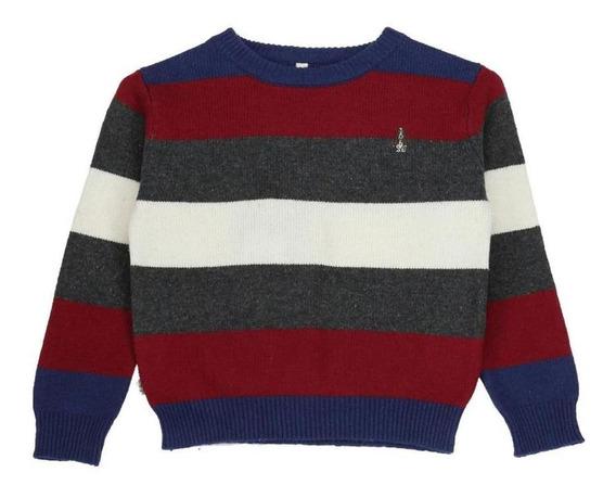 Sweater Niño Hush Puppies Kids Bw20-swt/tomas Rumba Red A