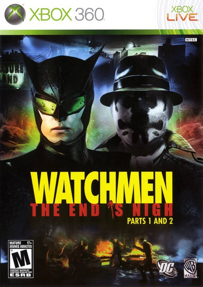 Jogo Xbox 360 Watchmen The End Is Nigh Parte 1 E 2 Original