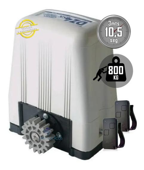 Kit Motor Portão Eletronico Deslizante Dz4 Turbo Rossi 800kg