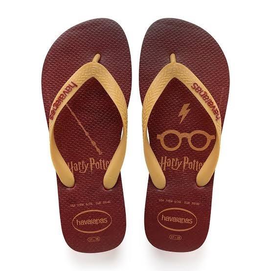 3 Chinelo Sandália Harry Potter Masculino Havaianas Original