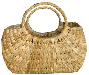 Bolsa De Palha De Taboa Pequena 18x12cm