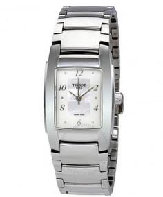 Relógio Tissot Feminino T-trend Prata Madre Pérola/aço