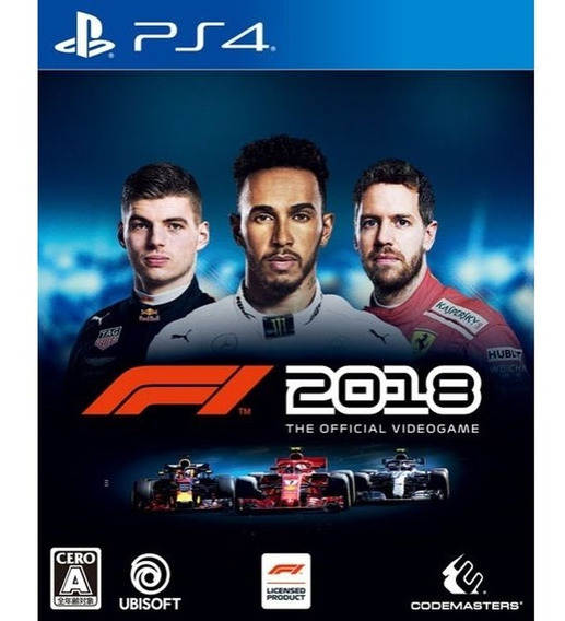 F1 2018 Edicao Padrao - Ps4