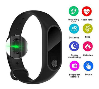 Pulsera Inteligente Con Monitor De Ritmo Cardíaco Bluetooth