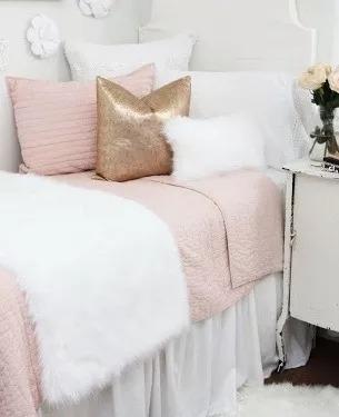 Manta Peseira Decorativa Pelo Alto Branca Solteiro 50x160cm
