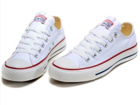 Zapatos Converse All Star Blancos 36 (vietnam)