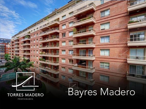 Bayres Madero Impecable 2 Ambientes Con Cochera En Alquiler.