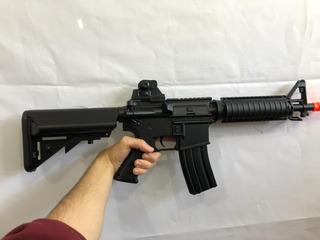 M4a1 Cqb Rifle Airsoft Elétrico Cyma Cm176 Bivolt 6mm 300fps