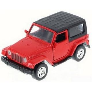 Jada 1:32 Just Trucks - 2014 Jeep Wrangler - Vermelho