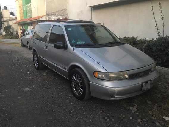 Nissan Quest 3.0 Gxe Piel Abs At 3p 1998