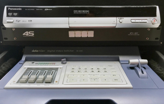 Rack De Transmissão Mesa Datavideo Se-500