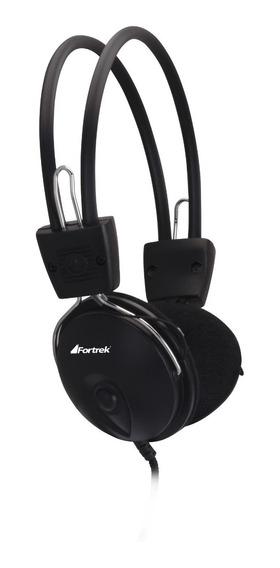 Headphone Fone De Ouvido Fortrek Hs312 P2 Microfone Original