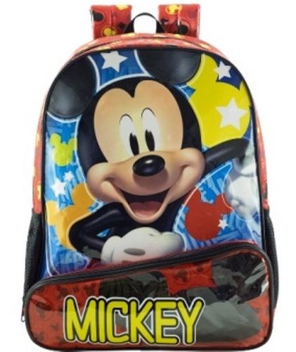 Imagem 1 de 3 de Mochila De Costas Hey Mickey