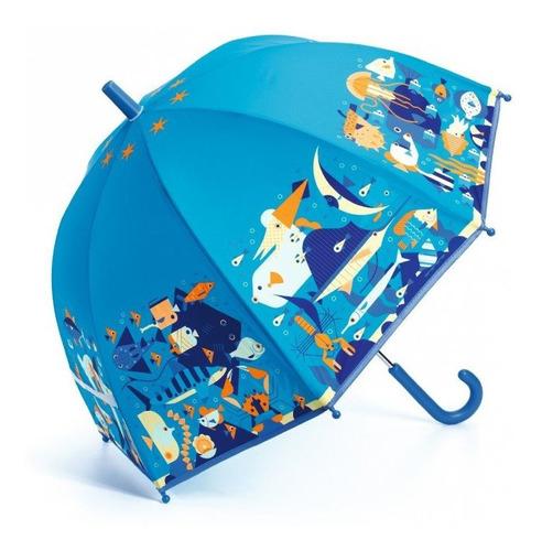 Paraguas Mundo Marino Djeco Dd04703