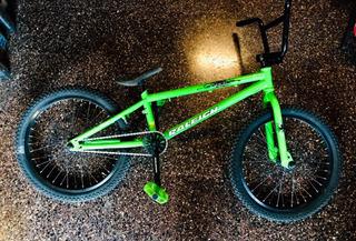 Bicicleta Bmx Raleigh Verde (jump X3) Impecable