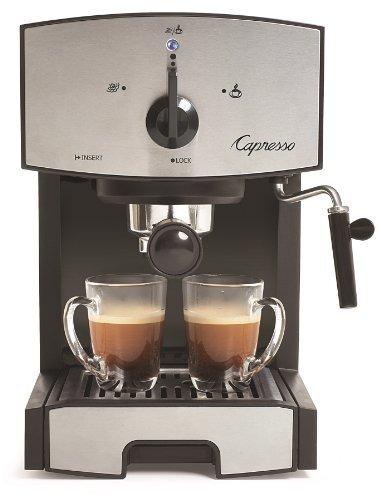Capresso 117.05 Bomba De Acero Inoxidable Espresso Y Cappucc