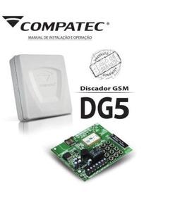 Discdora Gsm Central De Alarme Dg-5 Compatec Essa Te Liga.