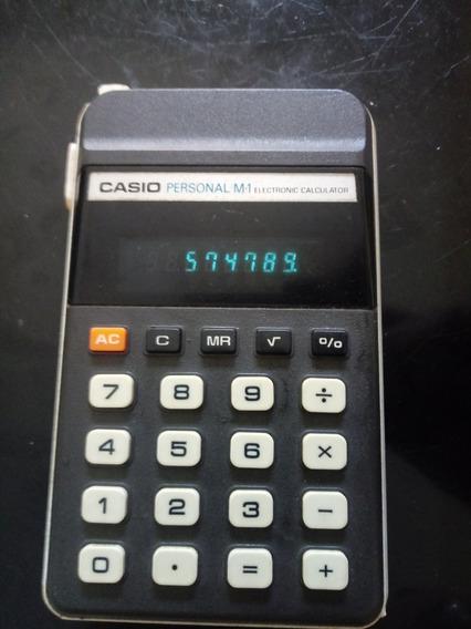 Calculadora Antiga Casio Modelo M1