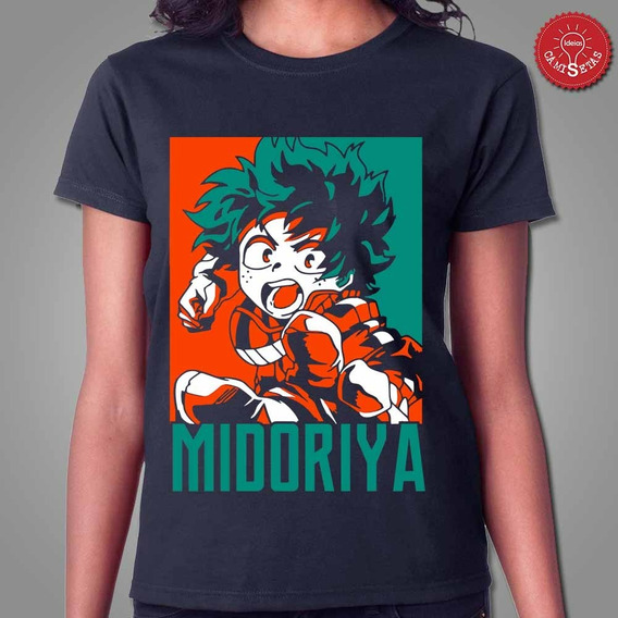 Camiseta Izuku Midoriya My Hero Academia
