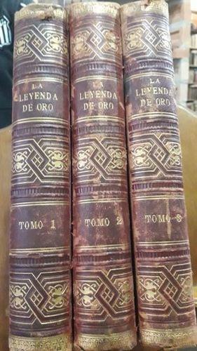 La Leyenda De Oro Para Cada Dia Del Ano ( 3 Vol )